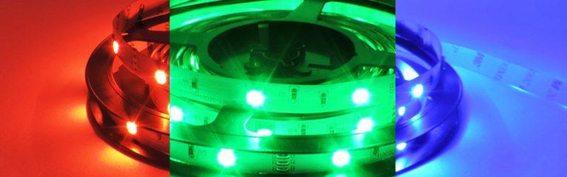 Tira LED RGB 7,5w 5060