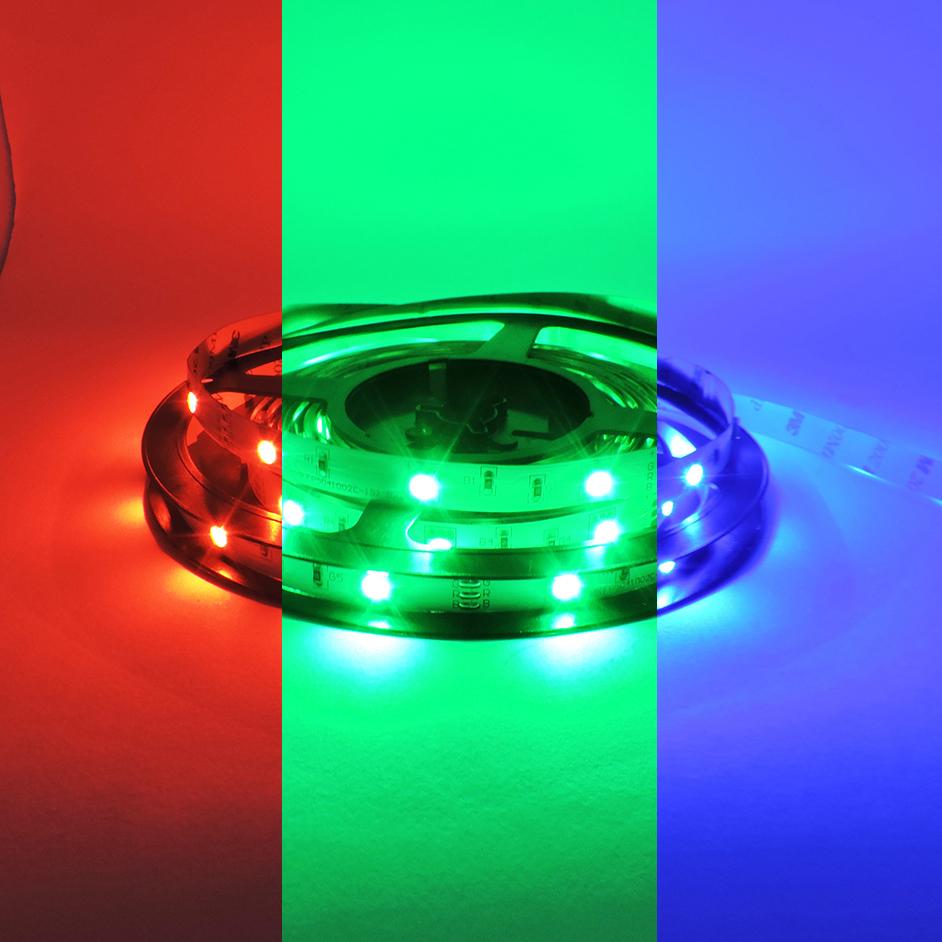 Tira rgb 30 led iluminacion led - Tiras de led rgb ...